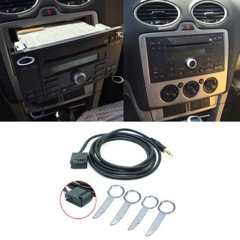 1 set 6000CD AUX Laido Adapteris, Automobilis Stereo-6000-CD AUX KABELIS Ford Fiesta, Focus 6000 CD dorp pristatymas