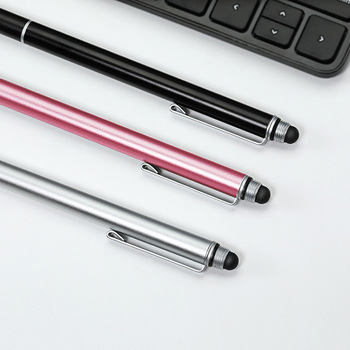 2 In 1 Stylus For Smartphone, Tablet Touch Pen Storas Plonas Piešimo